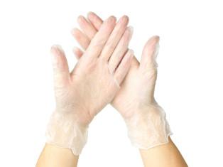 Виниловые перчатки (20 шт.)