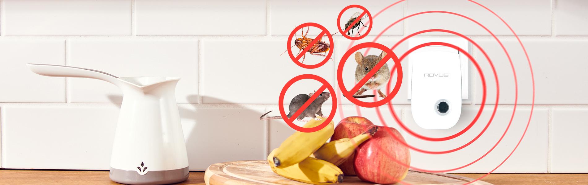 Отпугиватель грызунов и насекомых (3 шт.)